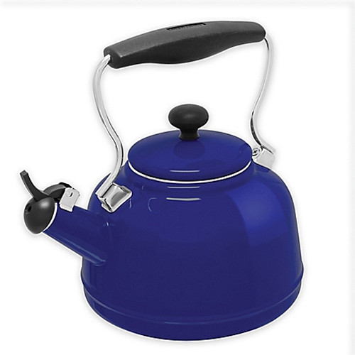Chantal® 2 qt. Vintage Tea Kettle in Blue