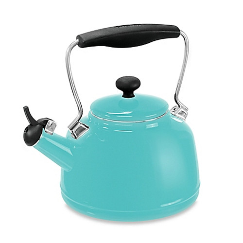 Chantal® 2 qt. Vintage Tea Kettle in Aqua