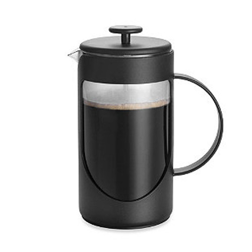 BonJour® 3-Cup Ami-Matin Unbreakable French Press in Black