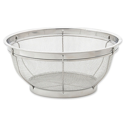 Harold Import Co. 11-Inch Mesh Colander in Stainless Steel