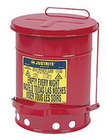 10 Gallon Oily Waste Can JUS09300