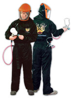 Carbon Fiber Anti-Static Spray Suit PS120B