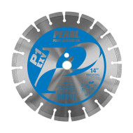 Pearl Abrasive EXV Series Diamond Concrete Blade 14 x .125 x 1 - 12mm Heigh