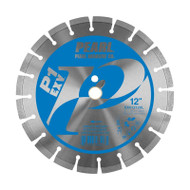 Pearl Abrasive Diamond Concrete Blade 12 in x 1 in Arbor EXV1212XL