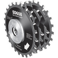 Freud 8-Inch Dial-A-Width Stacked Dado Set 5/8-Inch Arbor SD608