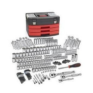 225 Piece SAE/Metric 6 and 12 Point Mechanics Tool Set KDT80935