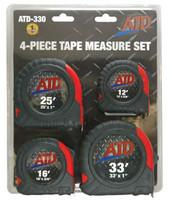 4-Piece Tap Measure Set ATD-330