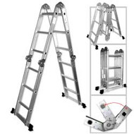 4 X 3 Aluminum Folding Ladder LAD-1