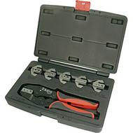 Professional Quick Interchangeable Ratchet Crimping Tool Set AST9477