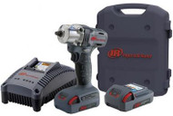 "3/8"" 20v Mid-Torque Impact Tool Kit (Two Batteries)"