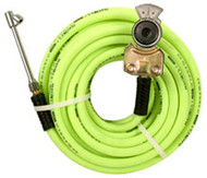 Truck Tire Inflator Kit with 3/8 I.D. x 50 ft Air Hose