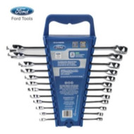 Ford Tool 12 Piece Combination Wrench Metric Set