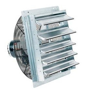 18 in Shutter Mounted Exhaust Fan