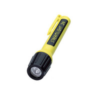 3N LED Flashlight Blue w/Yellow Body