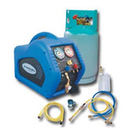 Complete A/C Recovery System with 30lb DOT Tank