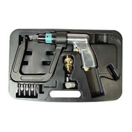 "Air Spot Drill with 5.5"" Deep Clamp Kit and 4 Drill Bits, AST1756"