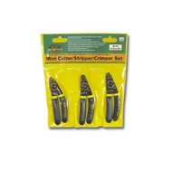 3 pc. Mini Stripper, Cutter  and  Crimper Set