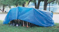 20 x 30 Foot Polyethylene Woven Tarp