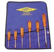 Ampco 6pc Slt/phl Non-spark Screwdriver Set M-39