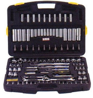 122 Piece Professional Tool Set (Metric and SAE)