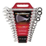 13 pc. SAE Combination Ratcheting GearWrench Set KDT9312