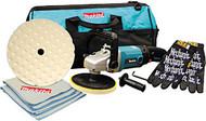 """7"""" Polisher/Sander Kit with Towels, Gloves and Tool Bag 9227CX5"""
