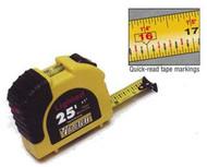 Lighted tape measure