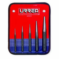 CENTER PUNCH SET W/ VINYL POUCH 1/4 IN 5/16 IN 3/8 IN 1/2 IN 5/8 IN, 5 PC
