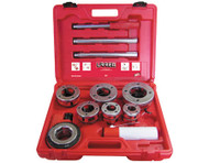 PIPE THREADER SET NPT 1/2 IN, 3/4 IN, 1 IN, 1-1/4 IN, 1-1/2 IN, 2 IN W/ACC, 10 PC