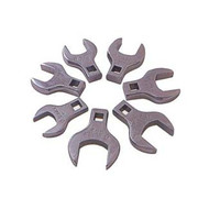 7pc Jumbo Straight Crowfoot Wrench Set