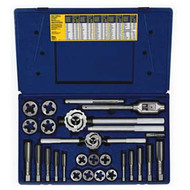 25-pc Fractional Tap  and  Adjustable / Solid Round Die Set