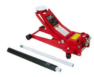 2 Ton Capacity Low Profile Service Jack w/Quick Lifting System
