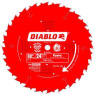 Freud Diablo 10-Inch 24-Tooth ATB Ripping Saw Blade D1024X