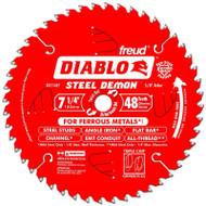 Freud  7-1/4 48 T TCG Ferrous Metal Cutting Saw Blade