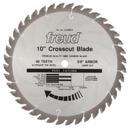 Freud 10-Inch 40 Tooth Stock General Purpose Miter Saw Blade LU72M010