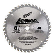 Milwaukee 8 1/4-Inch 40 Tooth General Purpose Saw Blade 48-40-4152