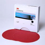 """3M 8"""" RED PSA DISCS P80D 3M1100"""
