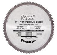 Freud 14-Inch 100 Tooth Non-Ferrous Metal Cutting Saw Blade LU89M014