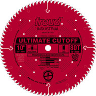 Freud 10-Inch 80 Tooth ATB Ultimate Cut-Off Saw Blade LU85R010