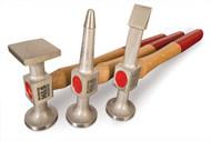 Aluminum Hammer Set, 3pc 7803 (UNI-7803)