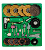 Mountain 90 Angle 1/4 inch Die Grinder and Surface Prep Kit MTN7310