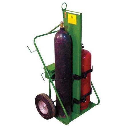 Welding Cart,Twin Cylinder, 780 lb Capacity