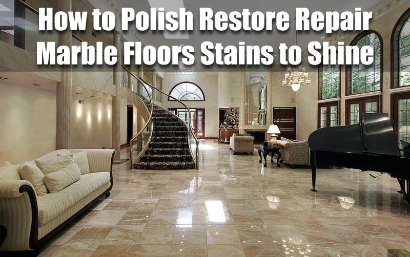 Bring Back Polish To Marble Floor Diy Gurus Floor