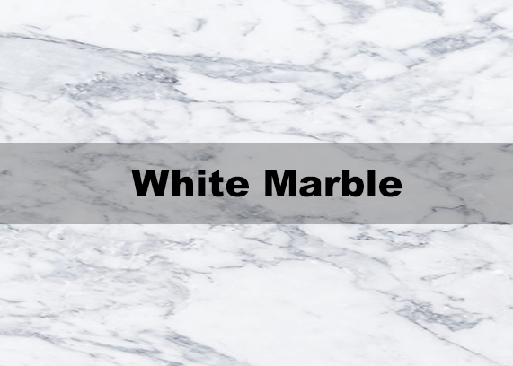 White marble repair polish