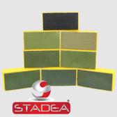 STADEA Diamond Hand Polishing Pads for Granite Marble Stone Polishing - 8 Pcs Set