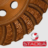 "STADEA 5"" Diamond Cup Wheel / Stone Grinding Wheel for Sanding Grinding Concrete Stone"