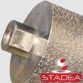 STADEA Diamond Drum Wheel Sanding Grinding Wheels Stone Granite Concrete Marble, 3 Inch DDWW03SPRA58001P