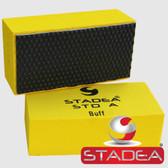 STADEA Diamond Hand Buffing Pad For Stone Marble Concrete Glass Polishing Buffing, Black Buff 1 Piece