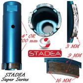 """STADEA diamond hole saw core diamond drill bit for concrete masonry granite stone coring drilling - 32 mm or  1 1/4"""""""