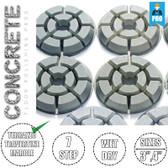 Stadea Diamond Floor Polishing Pads Set For Concrete Floor Polishing, Series CRT J